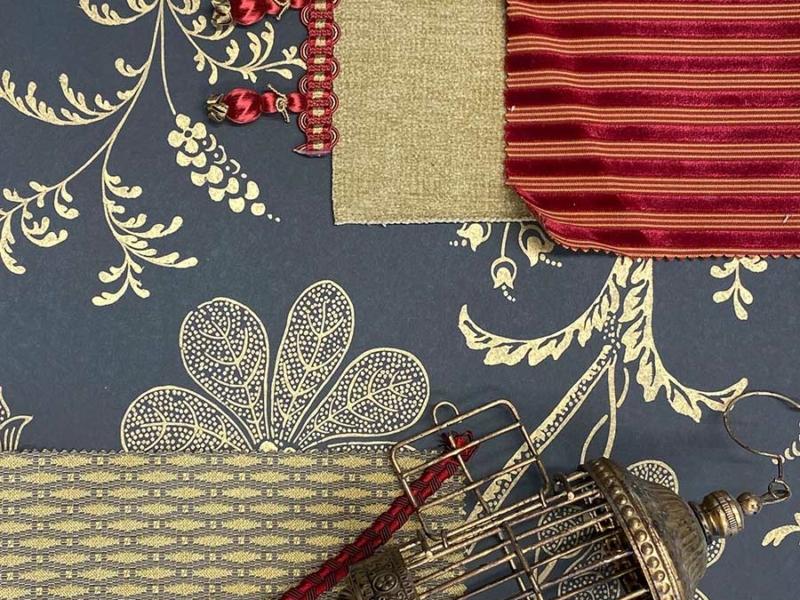Atelier de l'Estran - Formation - Tappisserie d'ameublement décors tissus